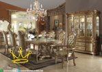 Set Kursi Meja Makan Mewah Klasik Modern