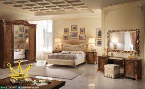 Set Kamar Tidur Mewah Klasik Modern