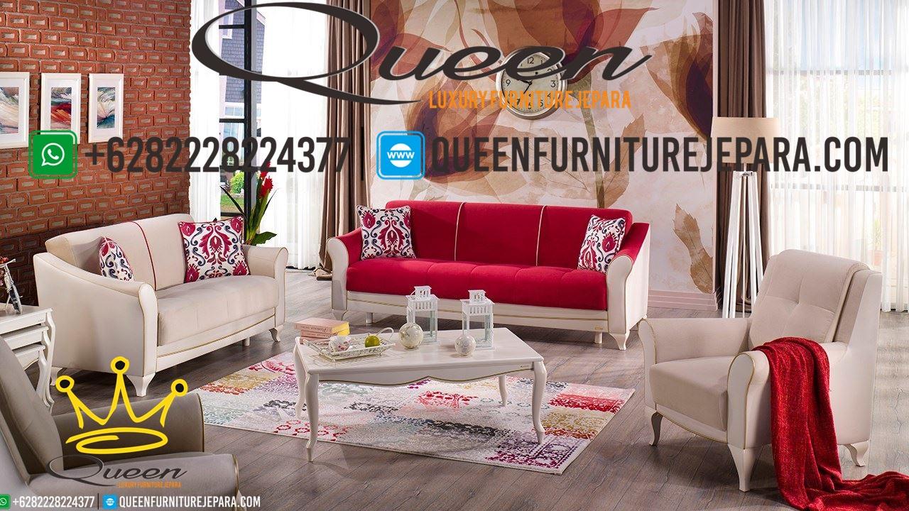 Set Sofa Tamu Shabby Furniture Terbaru Queen Furniture Jepara
