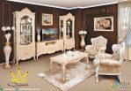 Set Ruang Tamu Klasik Mewah Terbaru