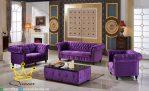 Set Kursi Sofa Tamu Modern Mewah Full Cover Terbaru 2017