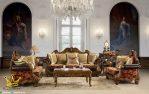 Set Sofa Kursi Tamu Ukiran Jepara Klasik Mewah Terbaru