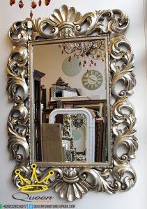 Mirror ukiran,pajangan dinding, Mebel jepara terbaru