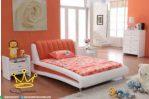 Set tempat tidur anak, shabby chic, Furniture jepara terbaru