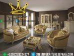 kursi sofa queen klasik, set kursi mewah jepara