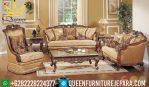 model sofa klasik ruang tamu mewah jepara terbaru