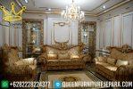 Sofa tamu mewah asli jepara