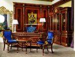 ruang kerja jati klasik queen furniture
