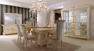 meja makan model terbaru queen furniture