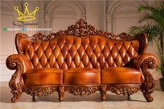 model sofa leather ukiran kayu jati queen furniture adalah sofa kulit jok asli yang di padukan dengan kemewahan ukiran kayu jati jepara