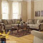 set sofa tamu jati klasik modern queen furniture jepara