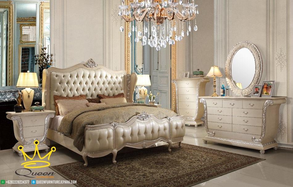 kamar set mewah klasik custom design queen furniture jepara