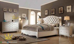 kamar set minimalis mewah full jok custom design queen furniture jepara