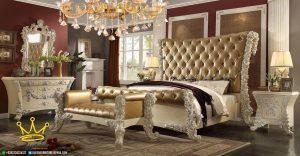kamar set queen bed victorian design