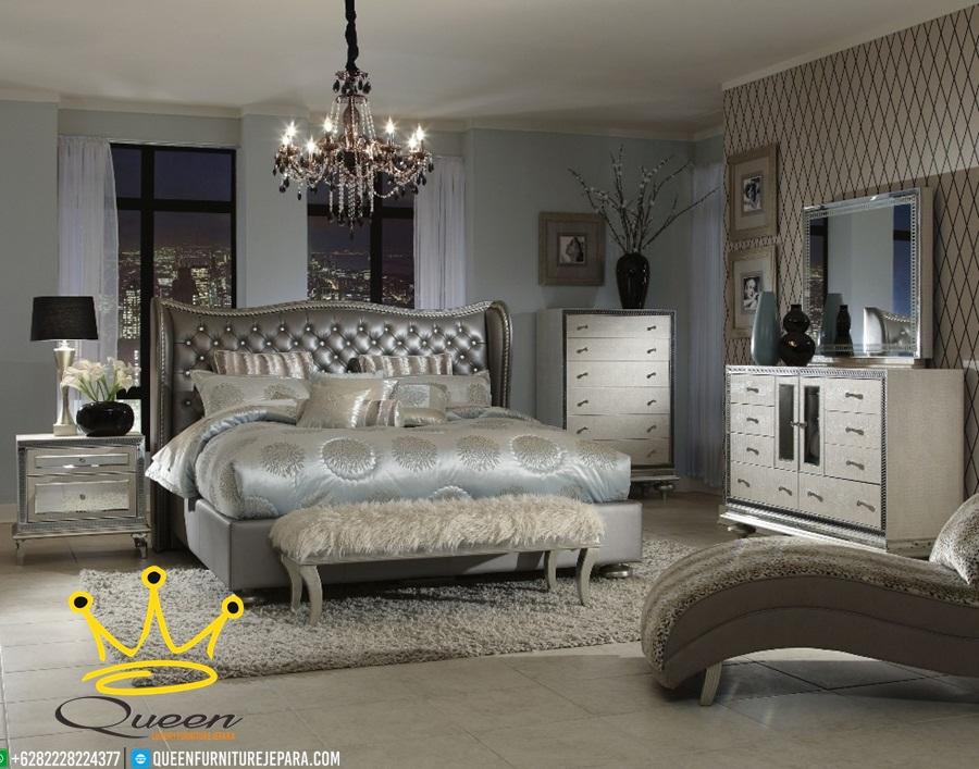 htset kamar tidur dengan kursi queen bludru custom design queen furniture jepara