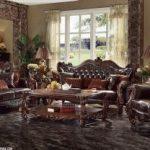 set sofa tamu jati klasik custom design queen furniture jepara